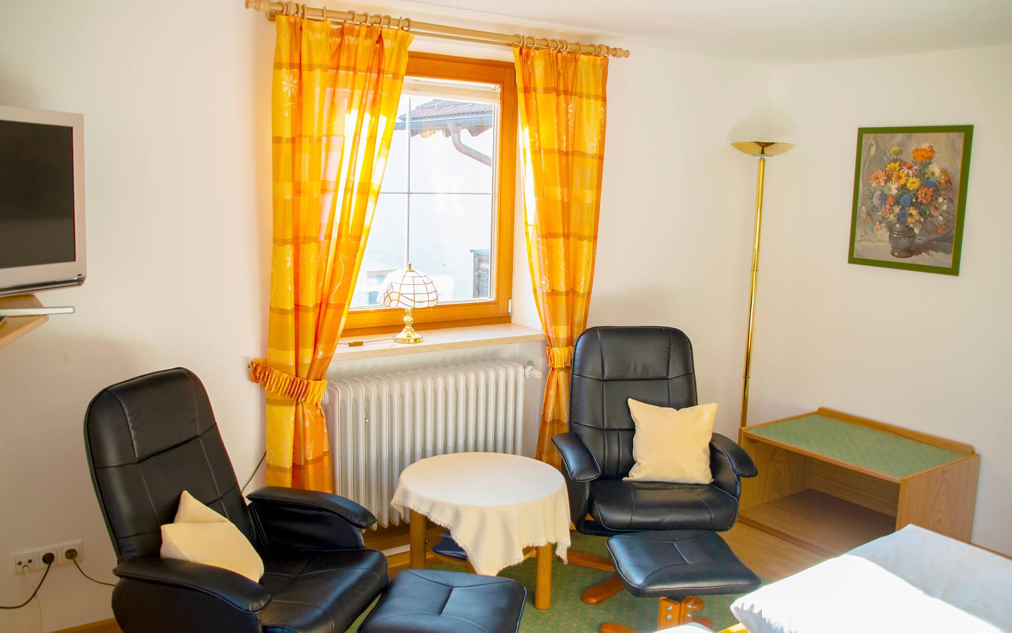 Wohnbereich im Schlafzimmer